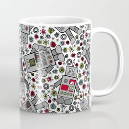 Retro Robots Coffee Mug