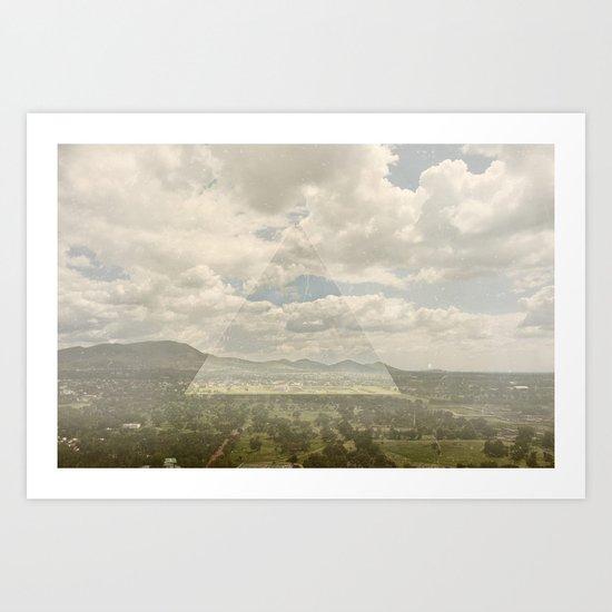 teotihuacan Art Print