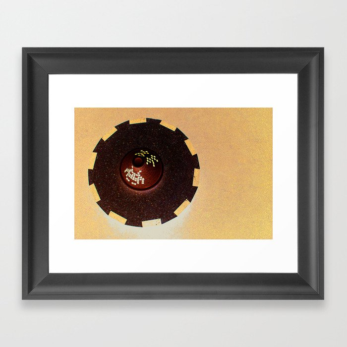 Tajine Invader Framed Art Print