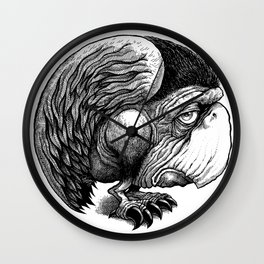 Huh Bird Wall Clock