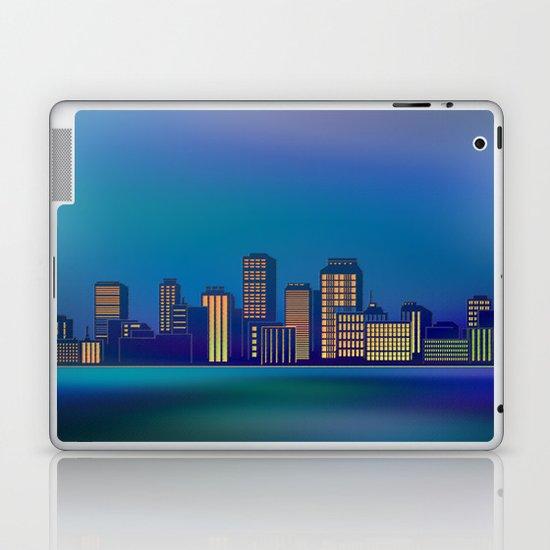 Seaside Cityscape Laptop & iPad Skin