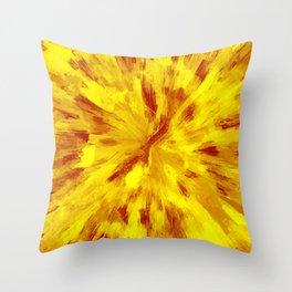 color explosion gogh pattern goyr Throw Pillow