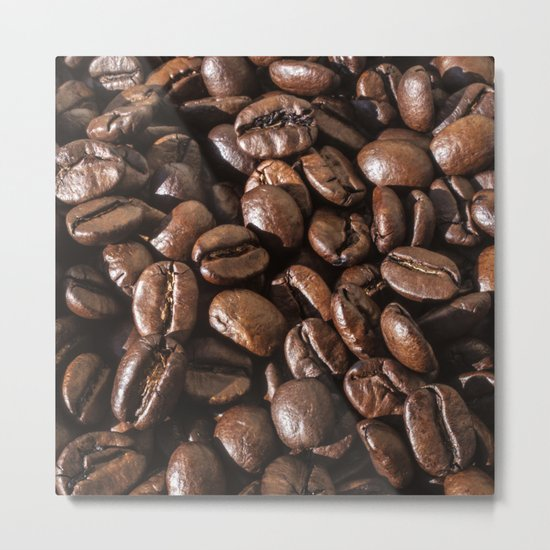 coffee bean macro II Metal Print