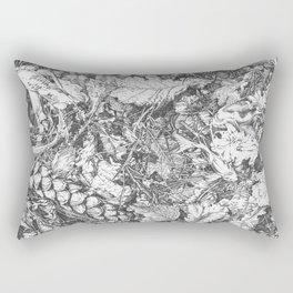 Lost Koi Fish. Rectangular Pillow