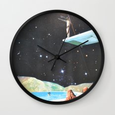 Diving Space Wall Clock
