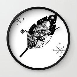 'Night-Leaf' Wall Clock