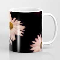 pushing daisies Mugs featuring Daisies by Christine Belanger