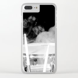 SMOKIN BEAT Clear iPhone Case