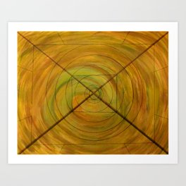 Right On Target, A Little Off Course Art Print