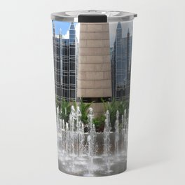 Concrete, Glass, and Water: PPG Plaza in Pittsburgh 21 Travel Mug