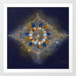 Treble Cosmos Art Print