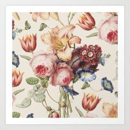 Vintage Botanical No. 3 Art Print