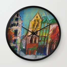 Cologne Old Market Wall Clock