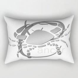 Cancer the Crab - Zodiac Sign Rectangular Pillow