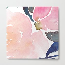 Rosado Flowers Metal Print
