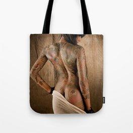 Lepa in Cotton Tote Bag