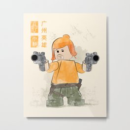 The Hero of Canton  (Lego Firefly) Metal Print