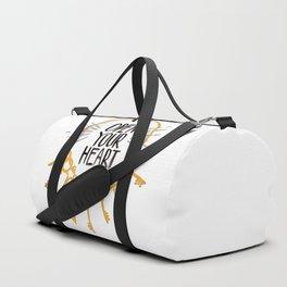 Open Heart Duffle Bag