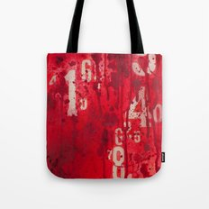 Numeric Values: Sl-a-sh the Budget Tote Bag