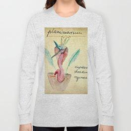 Planimarium -  elapidae strelitzia reginae Long Sleeve T-shirt