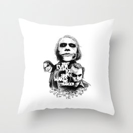 Agent of Chaos Throw Pillow