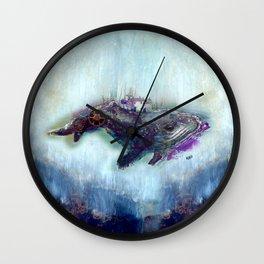 Floating Dreams Wall Clock