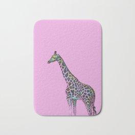 Chromatic Giraffe Bath Mat