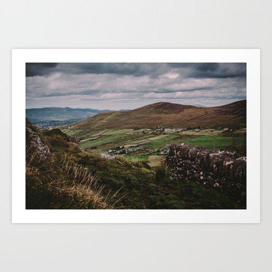 The Irish Countryside Art Print