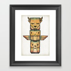 The Legends Framed Art Print