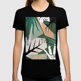 Abstract /Botanical T-shirt