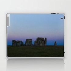 Stonehenge In Pink Laptop & iPad Skin