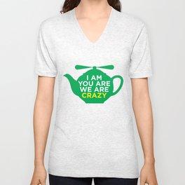 Flying Teapot Unisex V-Neck