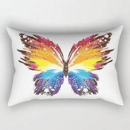 Abstract Butterfly Rectangular Pillow