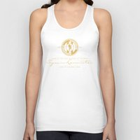 lannister Tank Tops featuring Tywin Lannister Monogram Logo by P3RF3KT