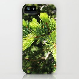 Budding New Life iPhone Case