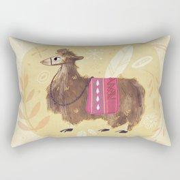 Llama Rectangular Pillow