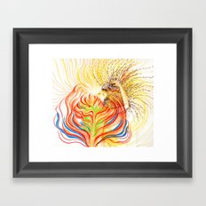 Bloom in LOVE Framed Art Print