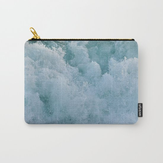 BUBBLES ON THE OCEAN Carry-All Pouch