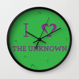 I heart The Unknown Wall Clock