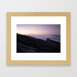 Kinabalu Dawn Framed Art Print