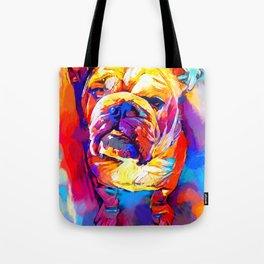 Bulldog 4 Tote Bag