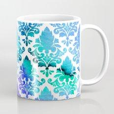Damask in Cool Bloom Mug