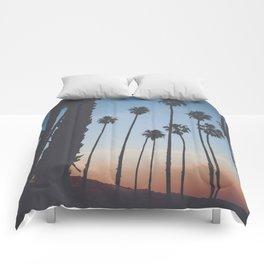Santa Barbara sunset  Comforters