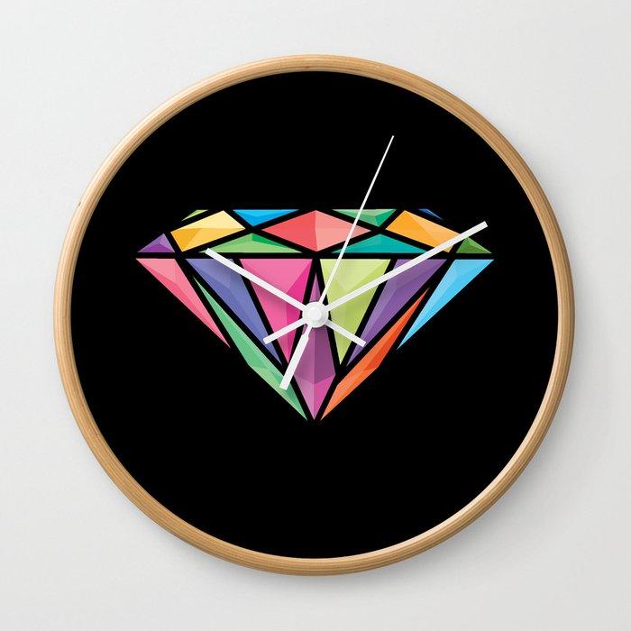 Diemond Wall Clock