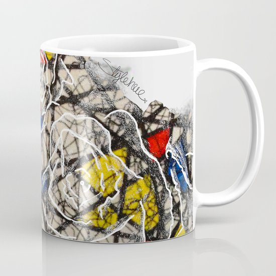 Primary Flowers Coffee Mug