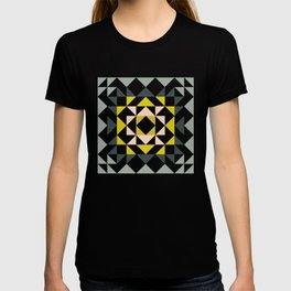 Pretty Triangle Modern Medallion T-shirt