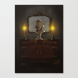 The Count by Topher Adam 2016 Canvas Print