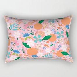 Orange Blossom Rectangular Pillow