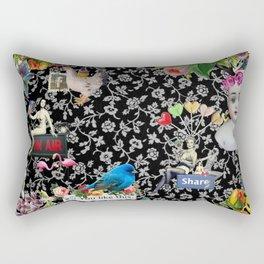 One Kiss Rectangular Pillow
