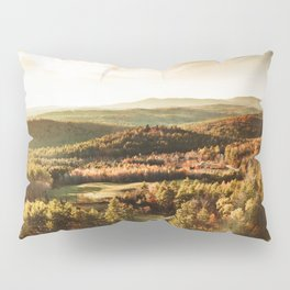 vermont aerial view  Pillow Sham